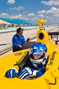 Tommy Wieringa, Homestead-Miami Speedway. Photo Credit Claudia C. Lopez