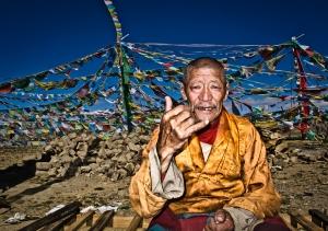 Gyaltsen, Nyalam, Tibet. Photo credit Claudia C. Lopez