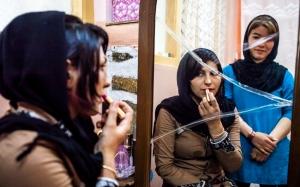Two Women, Kabul. Photo Credit Claudia C. Lopez