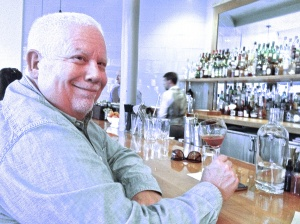 Ray Snead drinking