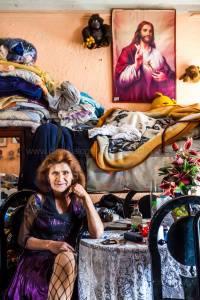 Susana, Crossdresser, Bogota, Colombia. Photo Credit Claudia C. Lopez