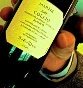 Ca' Ronesca Marnà Bianco 2001. Vinitaly USA 2014. Photo by V. Sprinkel