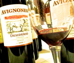 Avignonesi Desiderio Merlot 2010. Vinitaly 2014. Photo by V.Sprinkel